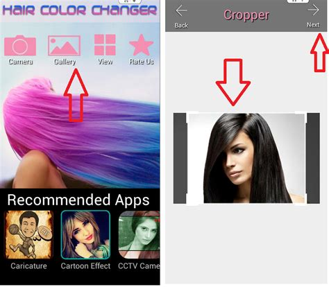 app to change hair color app to change hair color change hair color android apps
