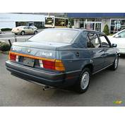 Blue Metallic 1987 Alfa Romeo Milano Silver Exterior Photo