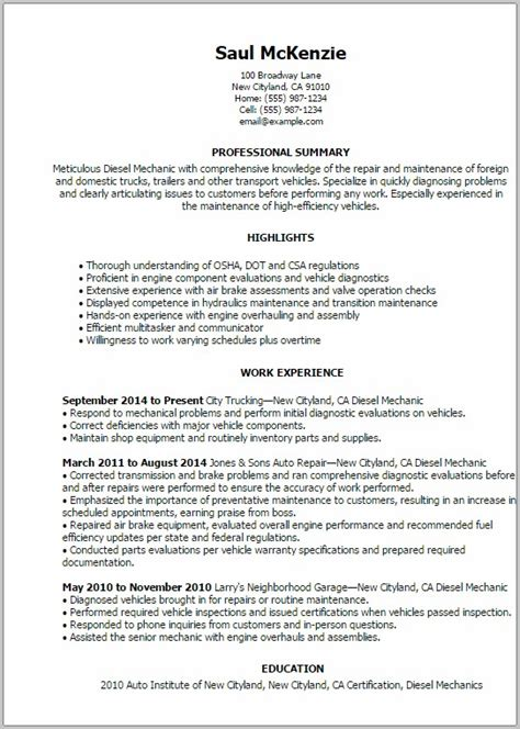 Resume To Civilian by Sle Resume For A To Civilian Transition