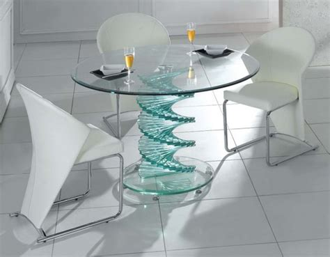 swirl glass dining table only buy modern dining room