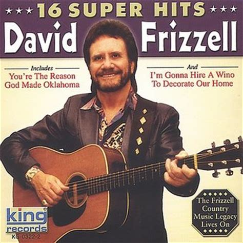david frizzell 16 hits cd 2003 king oldies