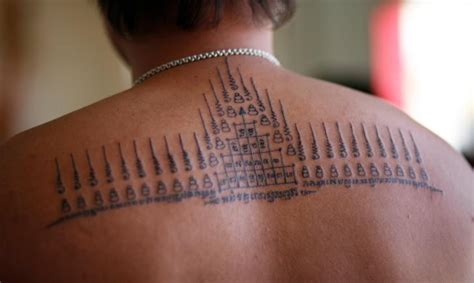 sak yant tattoos modern fad or mystical protection