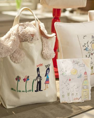 tote bag pattern martha stewart embroidered tote bag video martha stewart