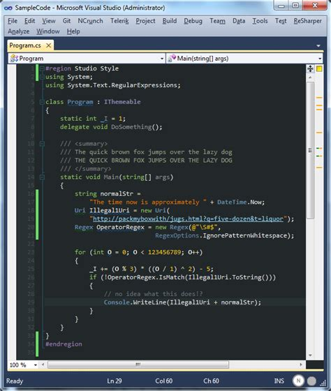 color scheme obsidian my customized son of obsidian visual studio color scheme