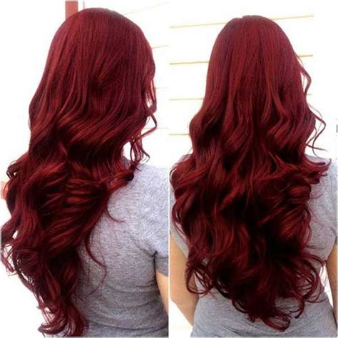 dark hairstyles and colours 25 red hair colors long hairstyles 2017 long haircuts
