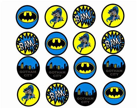 printable batman stickers batman free printable mini kit oh my fiesta in english