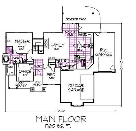 carson mansion floor plan carson main floor 1700sf house plans pinterest