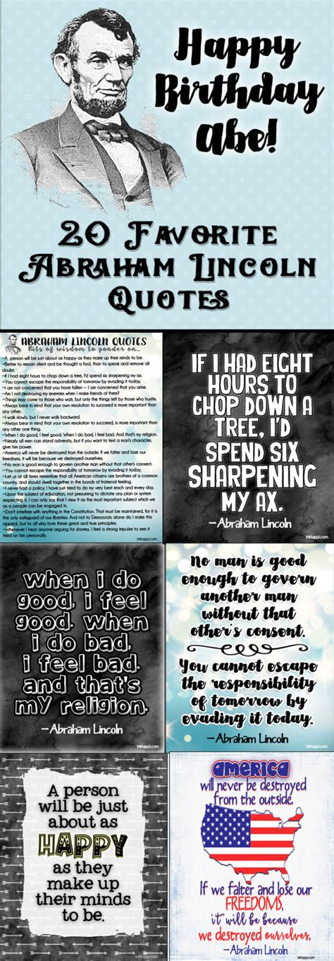printable abraham lincoln quotes abraham lincoln quotes 20 favorites plus free