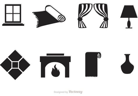 home interior vector black home interior vector icons download free vector