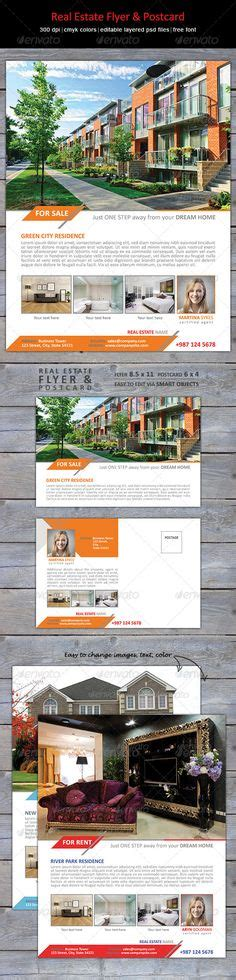 real estate flyer template by owpictures on envato studio