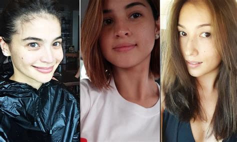 before and after looks of pinoy celebrities pinay celebrities before and after makeup mugeek vidalondon