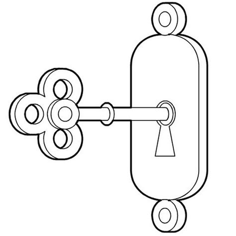 coloring page lock and key free coloring pages of skeleton key