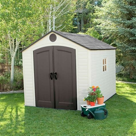sentinel    plastic storage shed  lifetime