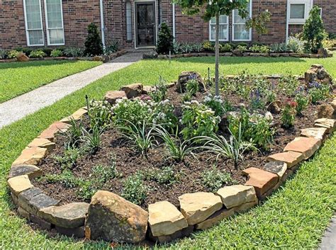 rock borders landscaping services