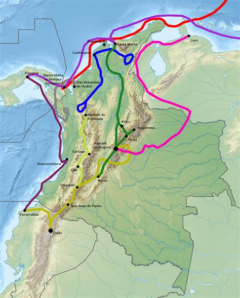 wiki rutas file conquest of colombia png wikimedia commons