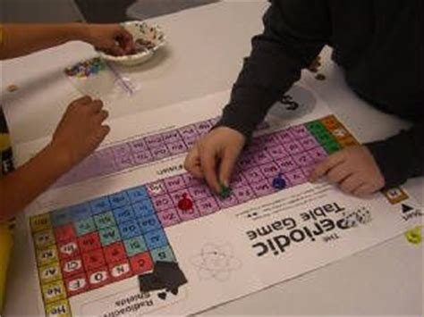 free printable periodic table games periodic table table games and game on pinterest