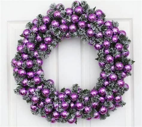 christmas wreath purple passion holiday wreath w wreath