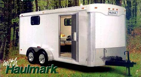cargo trailer with bathroom pace american race cargo trailer trailers for less