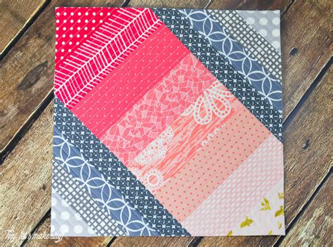 Easy Quilt Projects by Simple Seaside Boardwalk Quilt As You Go Block