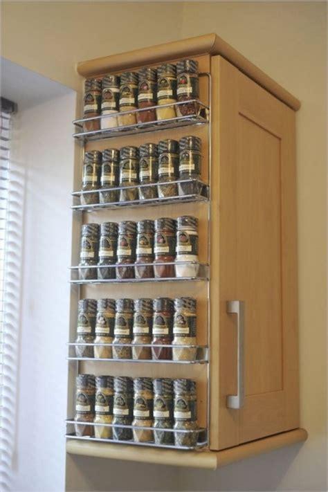 interesting spice racks  decorate  kitchen interior design