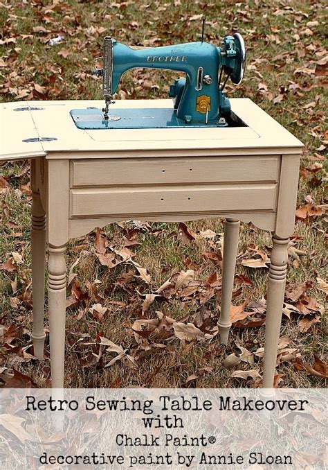 retro sewing machine table 25 unique sewing tables ideas on