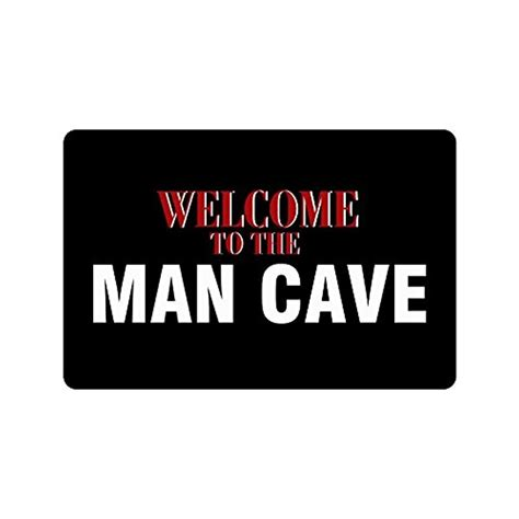 Cave Doormat by Saying Quotes Welcome To The Cave Non Woven Fabric