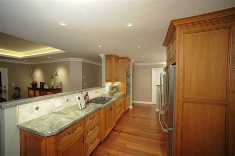 Open Galley Kitchen Designs | open plan galley kitchen traditional kitchen san