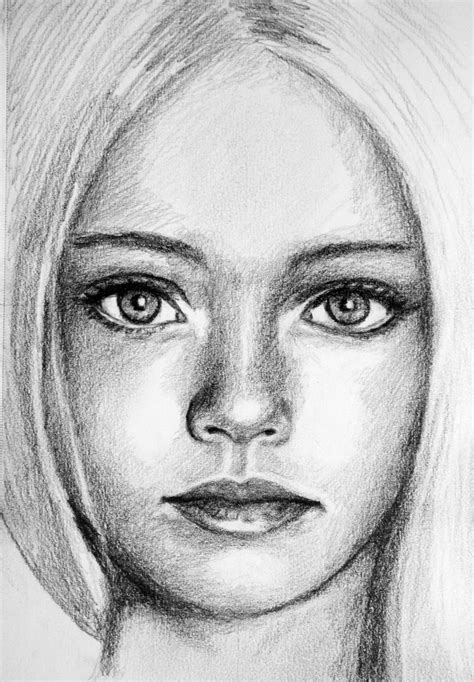 pretty girl face drawing pretty girl sketch by pmucks on deviantart