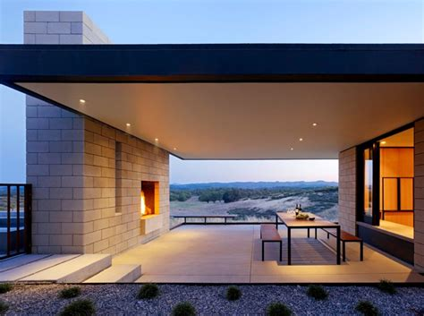 contemporary outdoor spaces eye catching modern outdoor fireplaces turn the patio