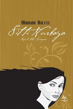 Buku Memang Jodoh By Marah Rusli resensi novel siti nurbaya kasih tak sai karya marah rusli ian konjo