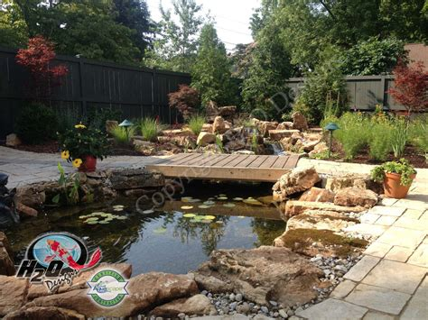 installing a backyard pond pond waterfall design services for your backyard landscape lexington kentucky ky