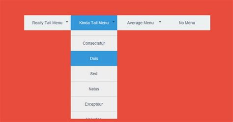 drop menu html template 25 free html5 css3 jquery dropdown menus