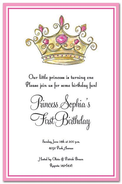princess invitations printable free printable princess birthday invitations for
