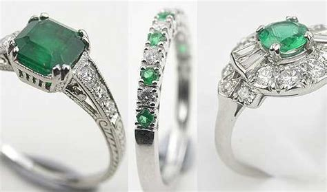 emerald engagement ring price