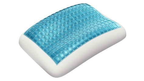 Cool Pillow technogel memory foam pillows cool you while you sleep