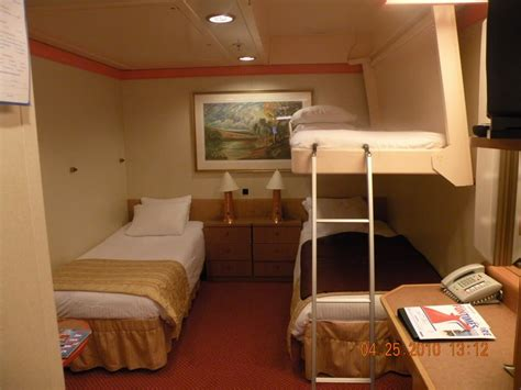 upper pullman bed does a pull down bed make the room smaller cruise critic