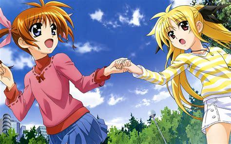 aliya ep 1 pt 1 fondos de pantalla mahou shoujo lyrical nanoha anime