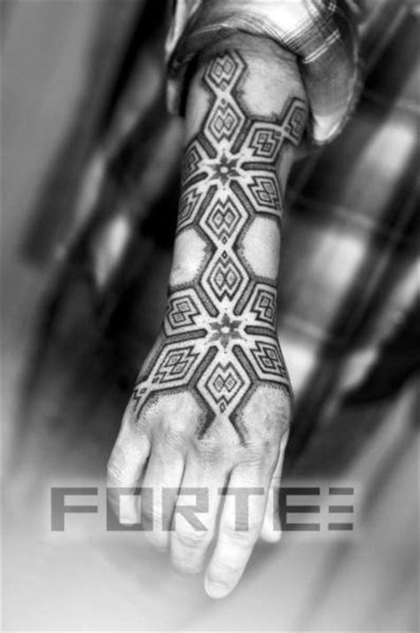 tattoo hand forearm arm hand dotwork tattoo by dillon forte