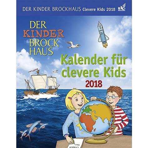 libro kinder der tage der kinder brockhaus kalender f 252 r clevere kids kalender 2018 thomas huhnold mytoys
