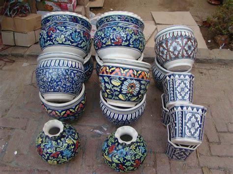 Ceramic Planters India by Charles M Inglis