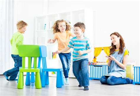 For Musical Chairs by Motor Skills For Autistic Children Slideshow