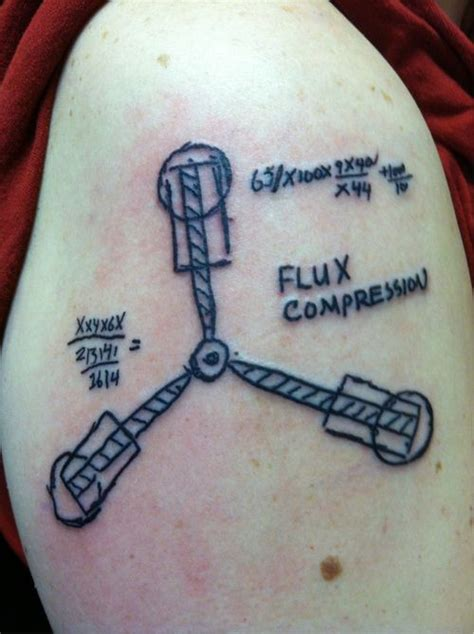 back to the future tattoo back to the future neatorama