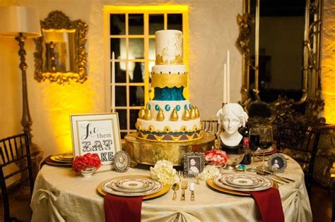 marie antoinette inspired tablescape  meredith
