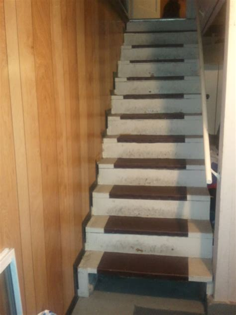 finding my healthy basement stairs ideas