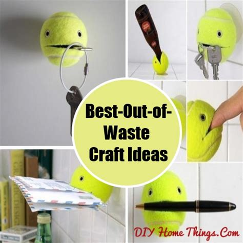 10 Creative Best Out Of Waste Craft Ideas For
