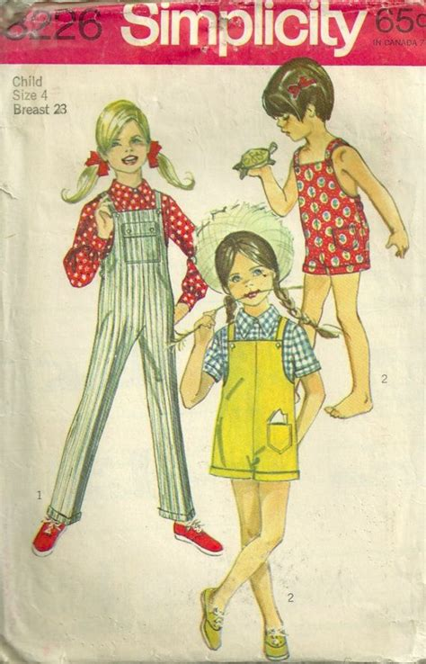 vintage overall pattern 209 best childrens clothing and sewing patterns images on