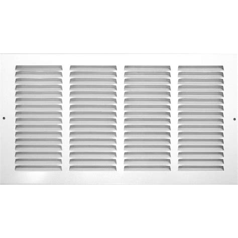 Ceiling Grills by Shop Accord Ventilation 500 Series White Steel Louvered