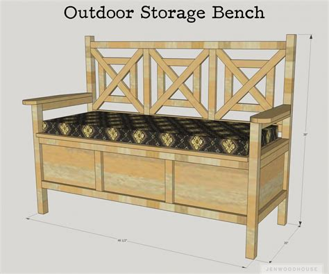 storage bench design plans picturesque how to build banquette seating diy to serene