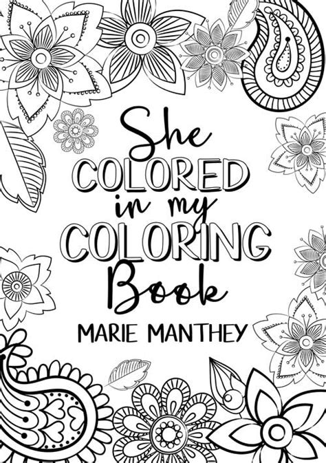 she colored in my coloring book