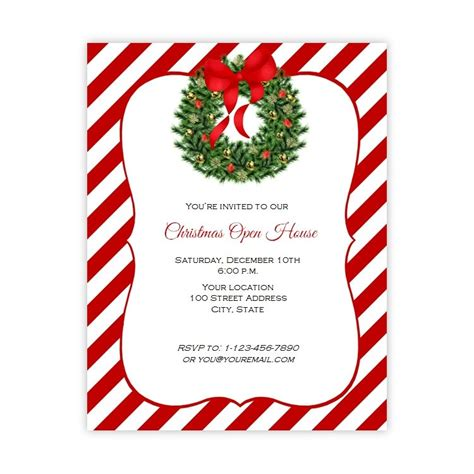 christmas flyer template free publisher 2017 best